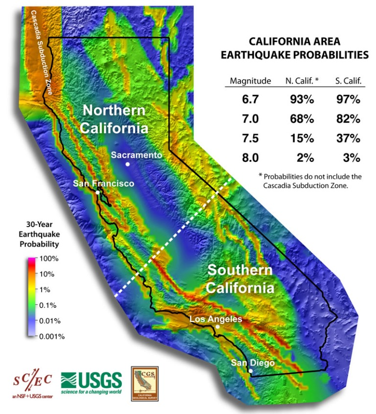 California Earthquake Probabilities Map - SCEC.org