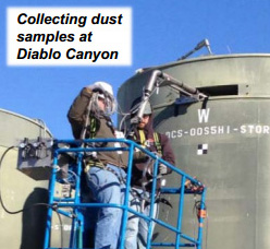 Diablo Collecting Dust Samples