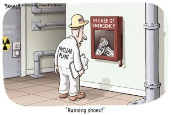In Case Of Emergency: Running Shoes?