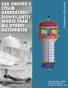 San Onofre Steam Generators Significantly Worse Than All Others Nationwide
