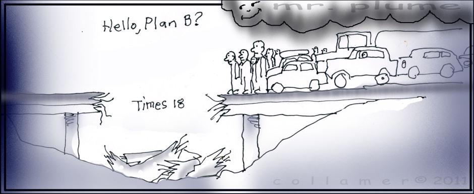 No Plan for Bridge Collapse