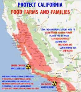 California Radiation Map after Meltdown - Paul Frey