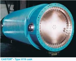 Castor-V-19 cask