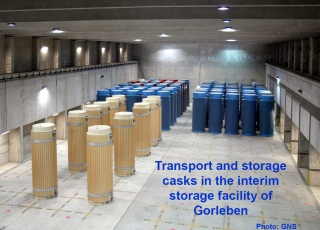 Germany Cask Storage Gorleben GNS
