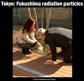 Tokyo: Fukushima radiation particles - Gundersen